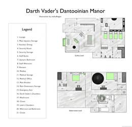 Darth Vader's Manor by kittyneko903