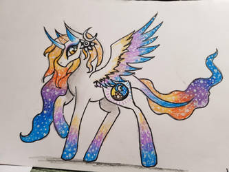 Mlp princess Nightshine by yadnamas2