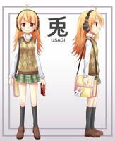MASCOT Usagi-chan by NickBeja