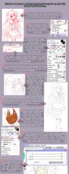 Paint Tool SAI CG step-by-step by NickBeja