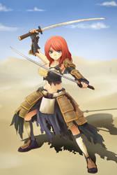 Swords of Edo: Kami by NickBeja