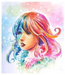Colorgirl 01 by NickBeja