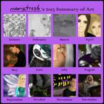 2013 Art Summary by mariatresh