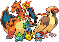Ash's Kanto Team by Flamejow