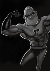 Mr Incredible PUMPED by jmont