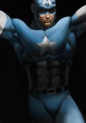 Captain America Arrival by jmont