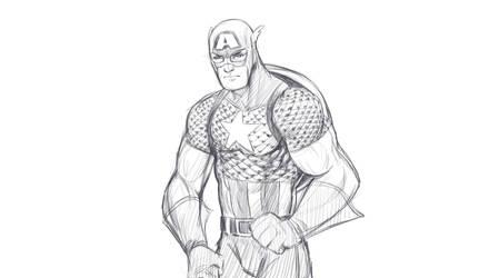 Cap A sketch by jmont