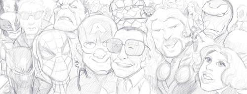 Stan Lee Tribute by jmont