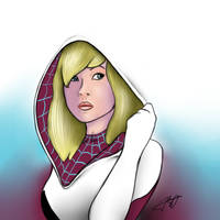 Spider Gwen by jakobdam
