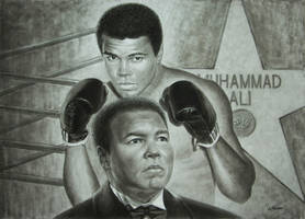 MUHAMMAD ALI TRIBUTE by VasilArt