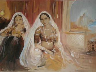 painting by SunnyTarke