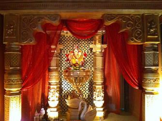 Lord Ganesh Decoration by SunnyTarke