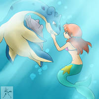 Mystic Mermaid by tehgamesayshi