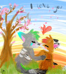 .:Love art:. by Squirrelings