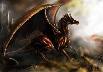 Dragon by Mingrune