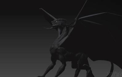Black Dragon 2 by Mingrune