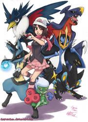 Pokemon Diamond Team by cherubchan