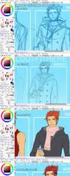 Cherub's Cell-shade Process by cherubchan