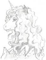 Liz the Magical Unicorn by RagTailedFox