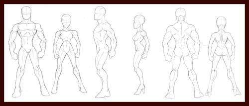 Human Figure Breakdowns by dawnbest