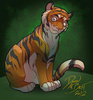 Portrait of a Tigsie by dawnbest