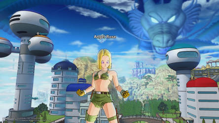 Angel Rose In Dragon Ball: Xenoverse 2 -60- by Knuxamyloverfan