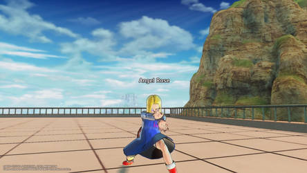 Angel Rose In Dragon Ball: Xenoverse 2 -64- by Knuxamyloverfan