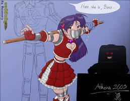 Athena, KOF version by Bgagger