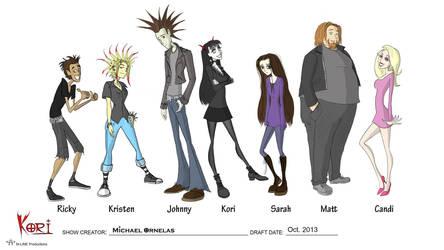 Kori - Main Cast by Thrash618