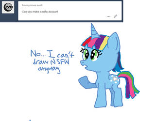 Ask Rainlight Shine Tumblr #19 by nightshadowmlp