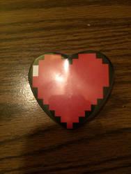 Determination Heart by powerkidzforever