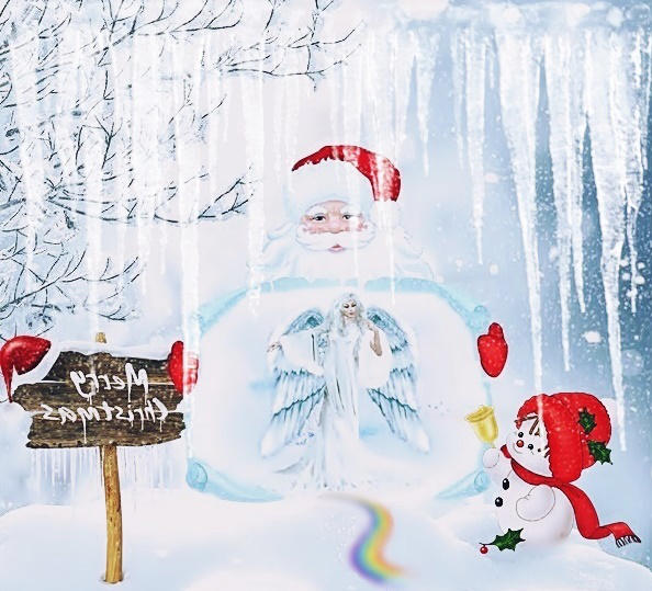 The Christmas Angel is on the way by poisen2014