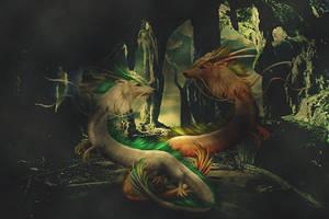 Dragon Dance by poisen2014