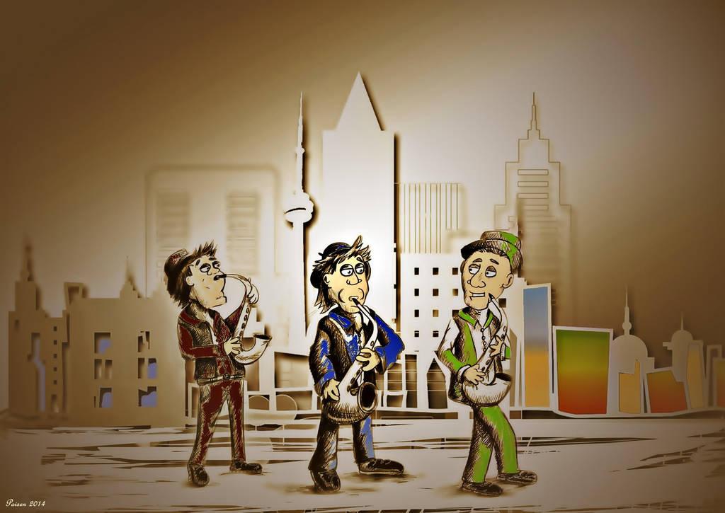 3 Musician by poisen2014