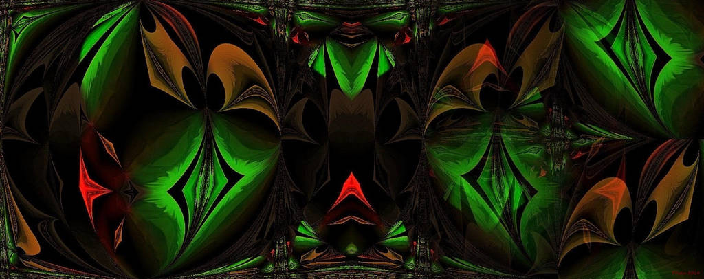 little green Diamond by poisen2014
