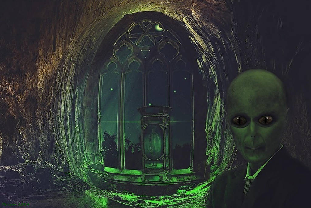 Alien Cave by poisen2014