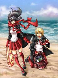 X Encontros co anime by LolitaAldea