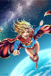Supergirl by LolitaAldea