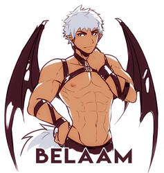 Character introduction - Belaam by JustSyl