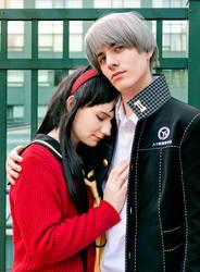 Persona 4 - Yu and Yukiko by BLUEsteelProductions