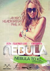 Nebula Flyer Party by aman-pessar