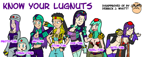 Know your Lugnuts by GeneralTekno