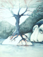 The Drowning Woman by bloodykimono
