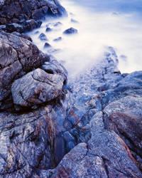 coast of rocks by MartinAmm