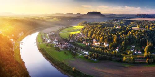 Bastei panorama by MartinAmm
