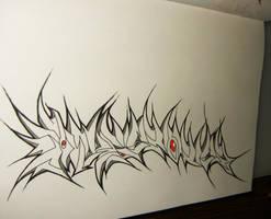 WILDRAZOR-WIP by GRAFFITIISMYWEAPON