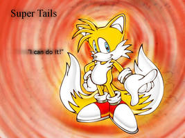 Super Tails Wallpaper by Herman-da-German
