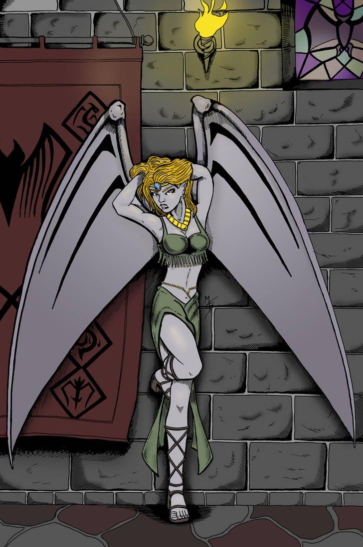 Winged Goddess by MKBessette