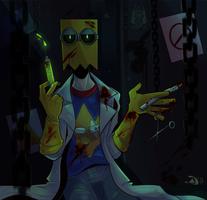 Evil Being by DiamondwolfART
