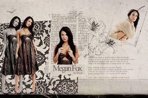 Megan Fox Collage by demolitionn